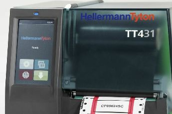 Thermotransferdrucker TT431 mit Touchdisplay
